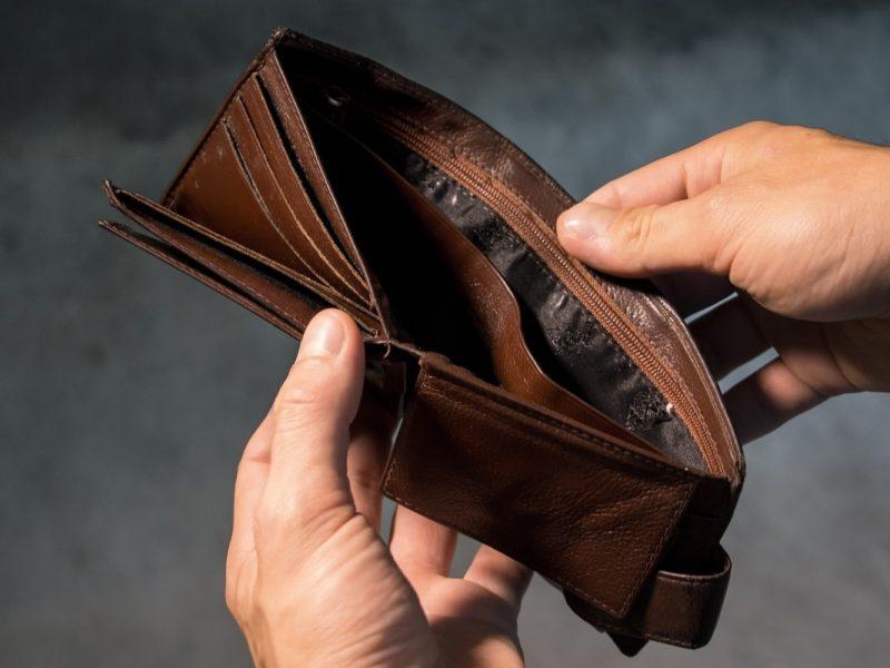 Bo nie mam pieniędzy!